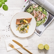 Dieta pudełkowa wege fish